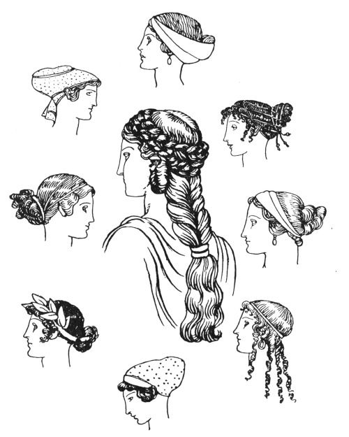 Ancient Greek Hairstyle 3